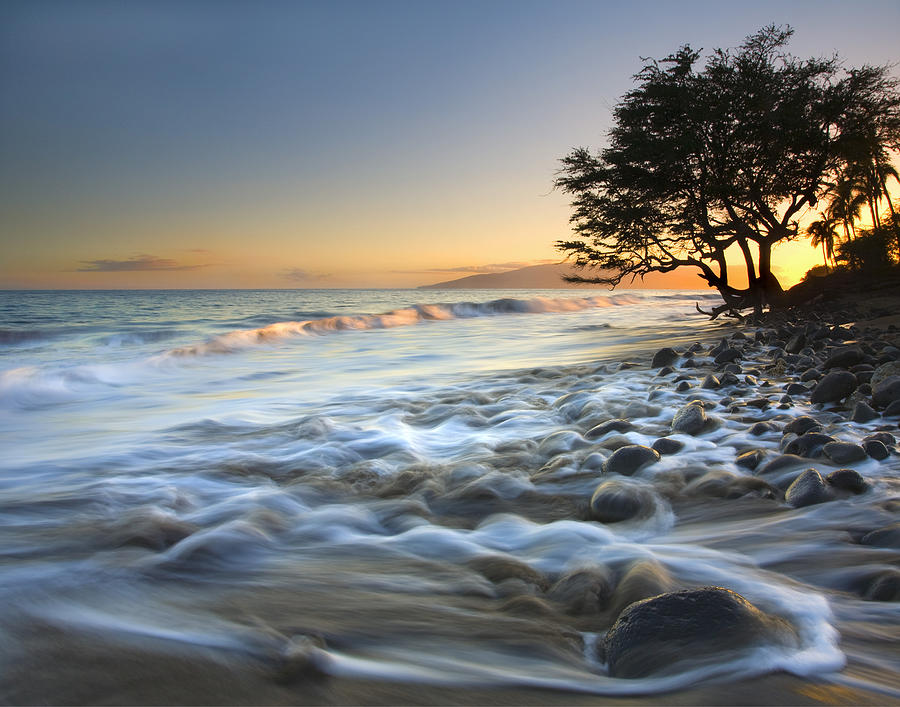 Sea Photograph - Ebb and Flow by Mike Dawson