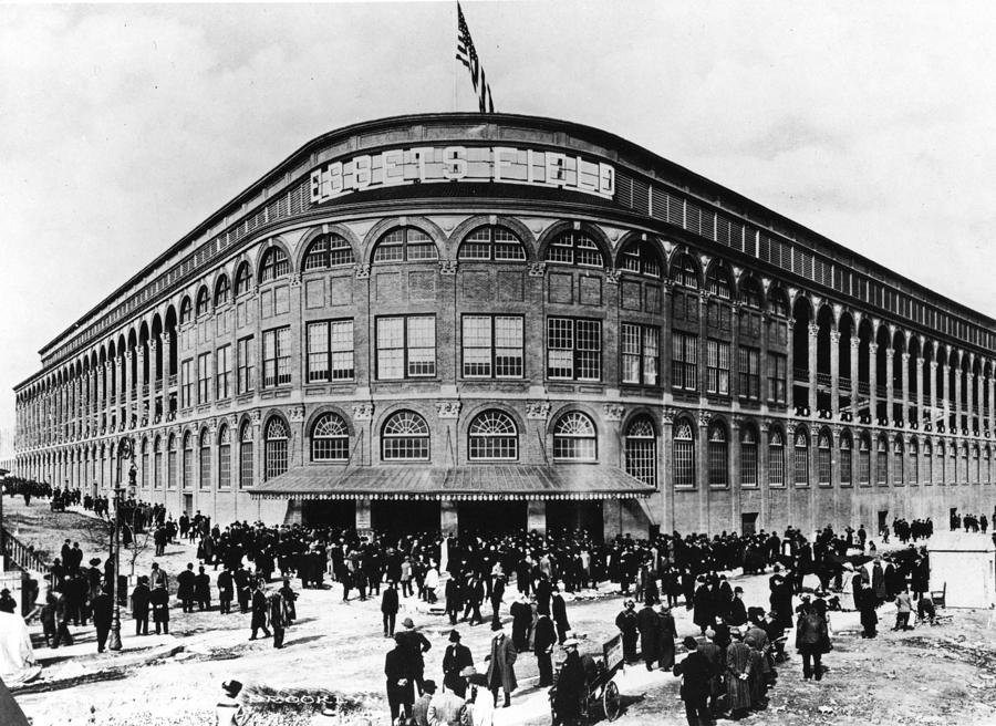 Ebbets Field Facade Photograph by Transcendental Graphics