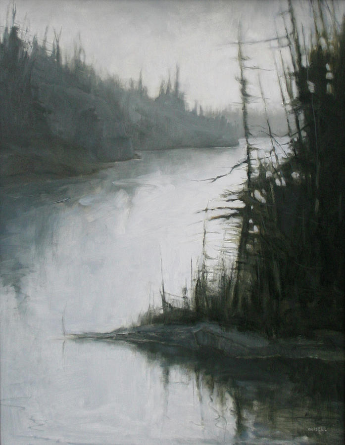 Echoes Painting by Mary Jo Van Dell