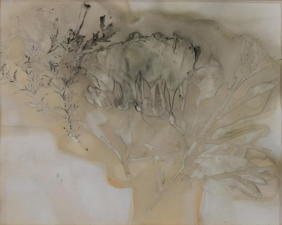 Nature Mixed Media - Eco print 3 by Charla Van Vlack