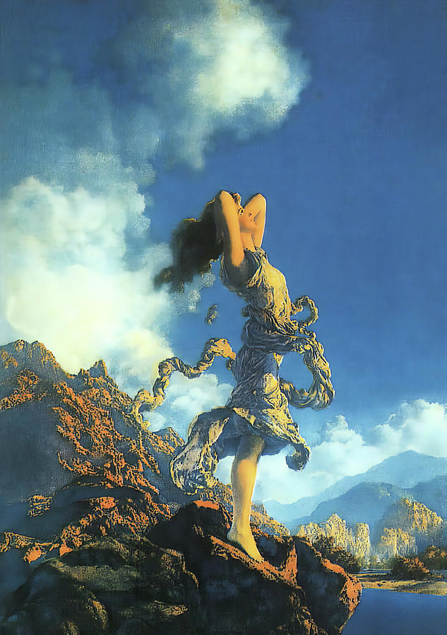 Maxfield Parrish Photograph - Ecstasy by Maxfield Parrish