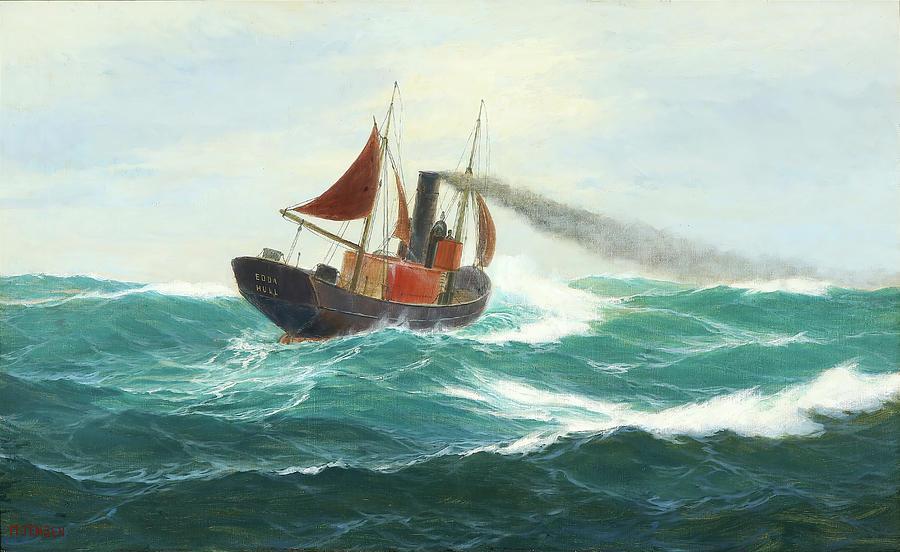 Edda Of Hull Painting
