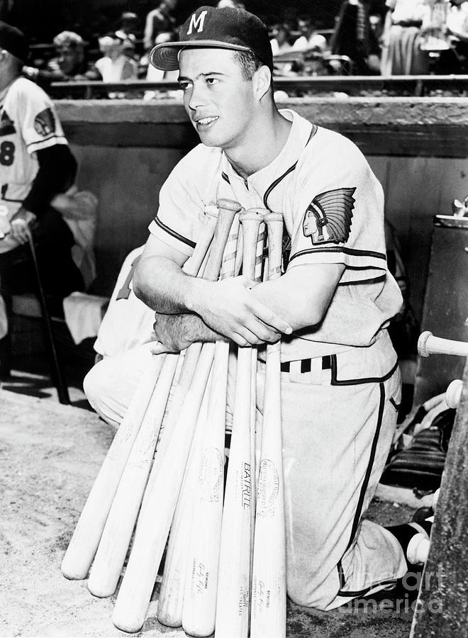 Eddie Mathews Photograph by National Baseball Hall Of Fame Library
