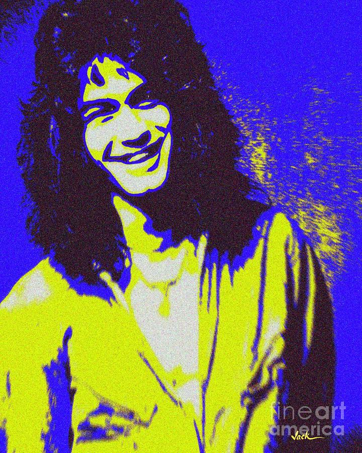 Van Halen Painting - Eddie Van Halen by Jack Bunds