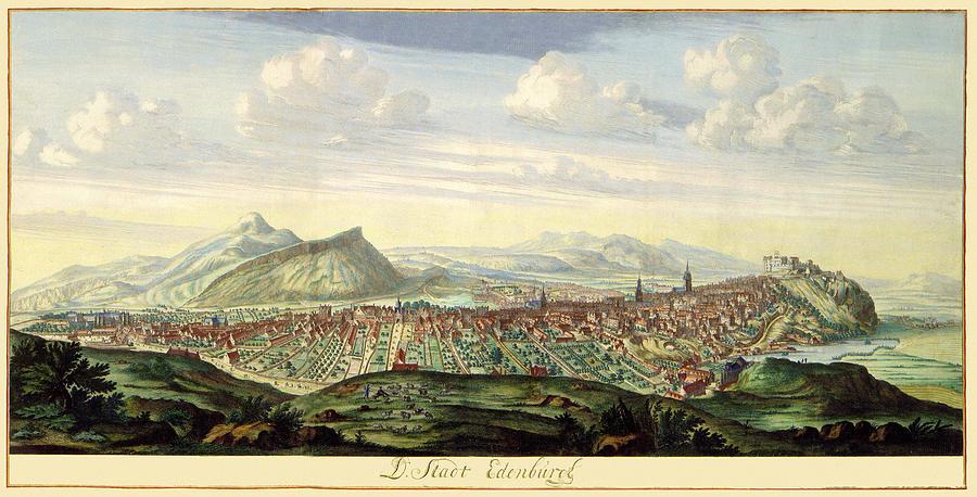 Edinburgh 1675 Photograph