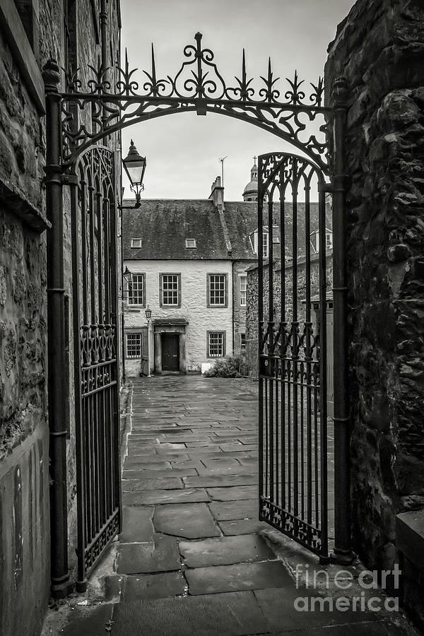 Edinburgh Entrance Way Photograph