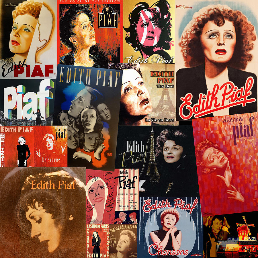 Edith Piaf 2 by Andrew Fare