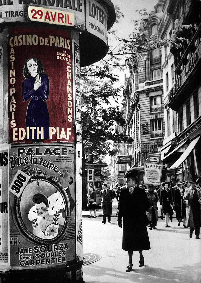Edith Piaf 3 by Andrew Fare