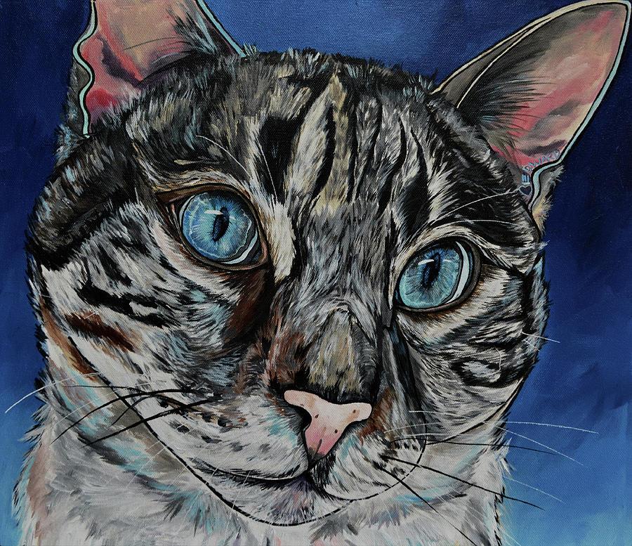 Edward The Cat by Patti Schermerhorn
