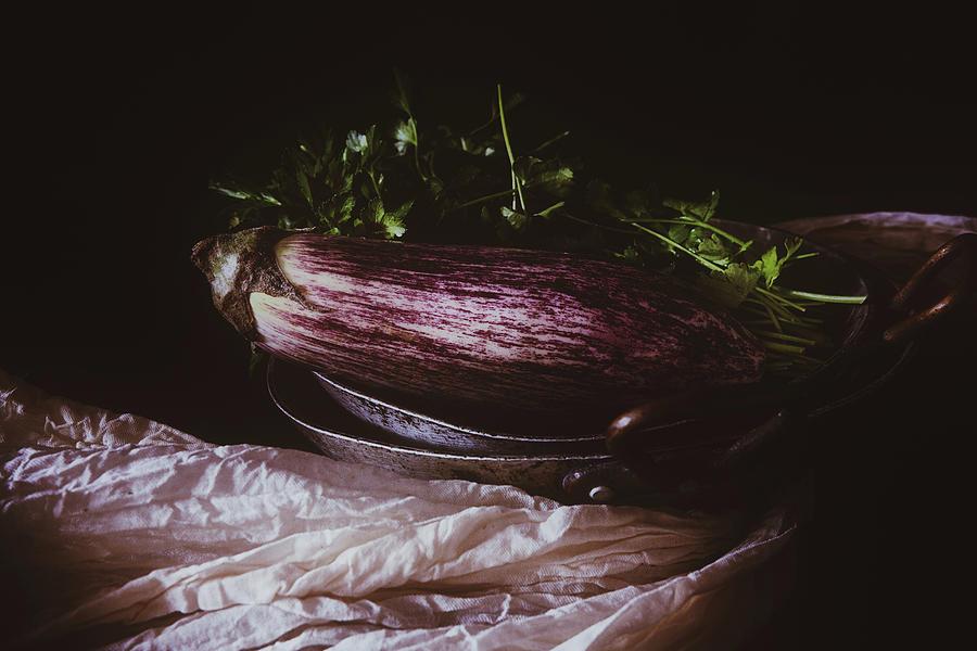 Eggplant Art Photograph