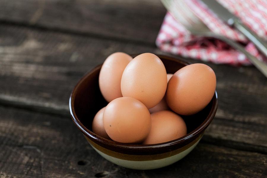 Eggs Photograph by Carolafink