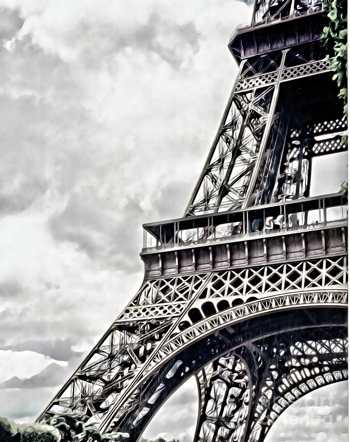 Eiffel Tower Corner by Tracy Ruckman