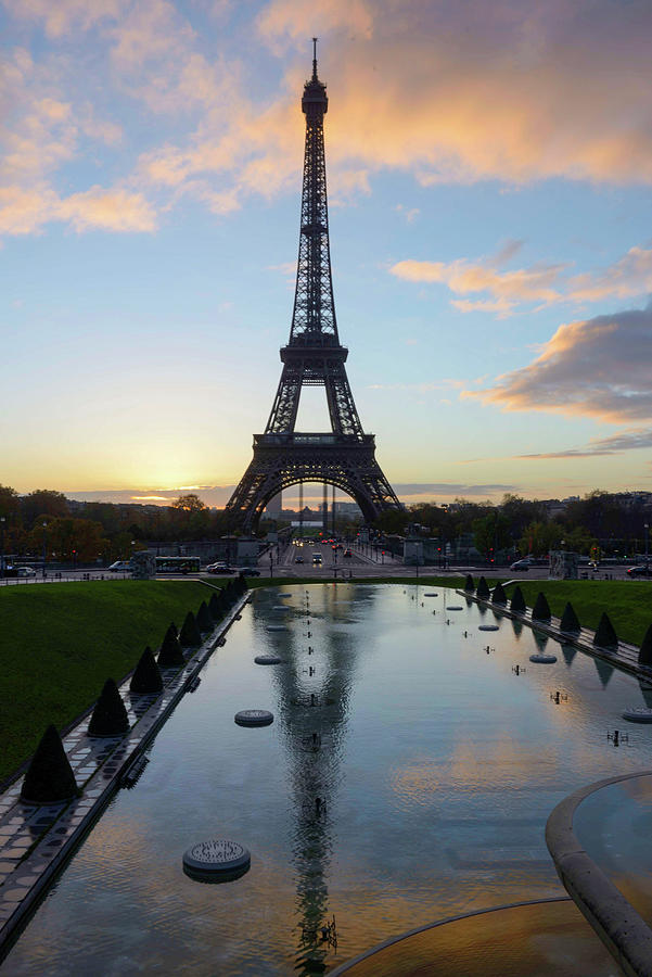 Eiffel Tower Photograph - Eiffel Tower by Mike Brown