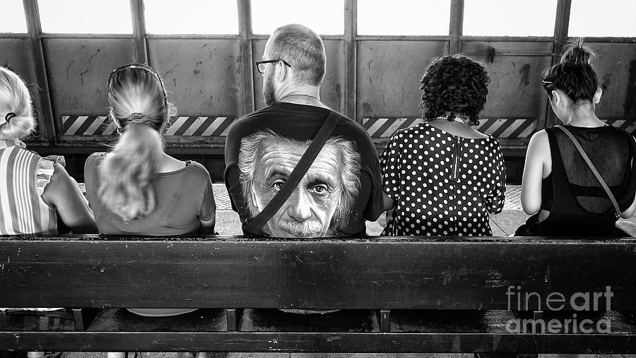 Einstein Photograph - Einstein Forever by Frank Daske