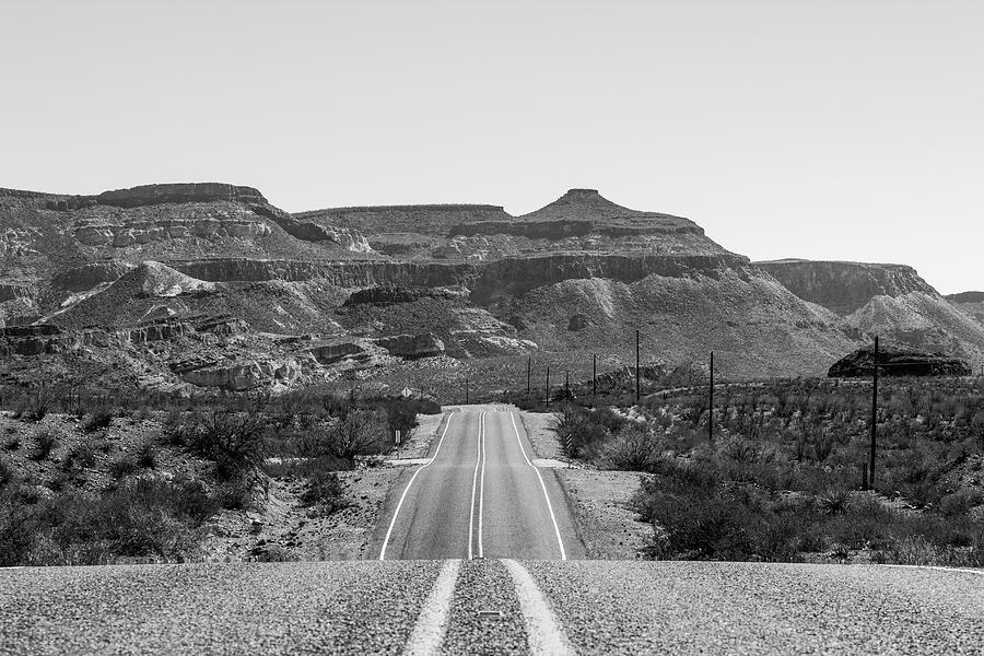 Big Bend Ranch State Park Photograph - El Camino del Rio 00955 by Renny Spencer