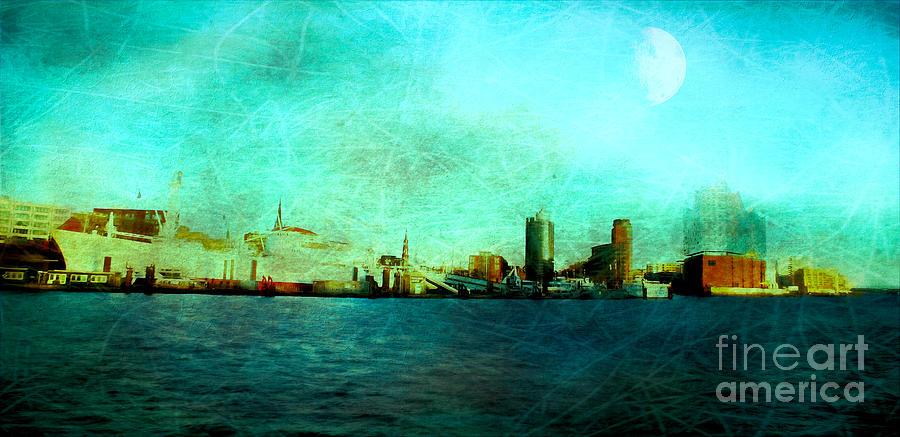 Elbphilharmonie Hafencity Hamburg - Digital Art Digital Art