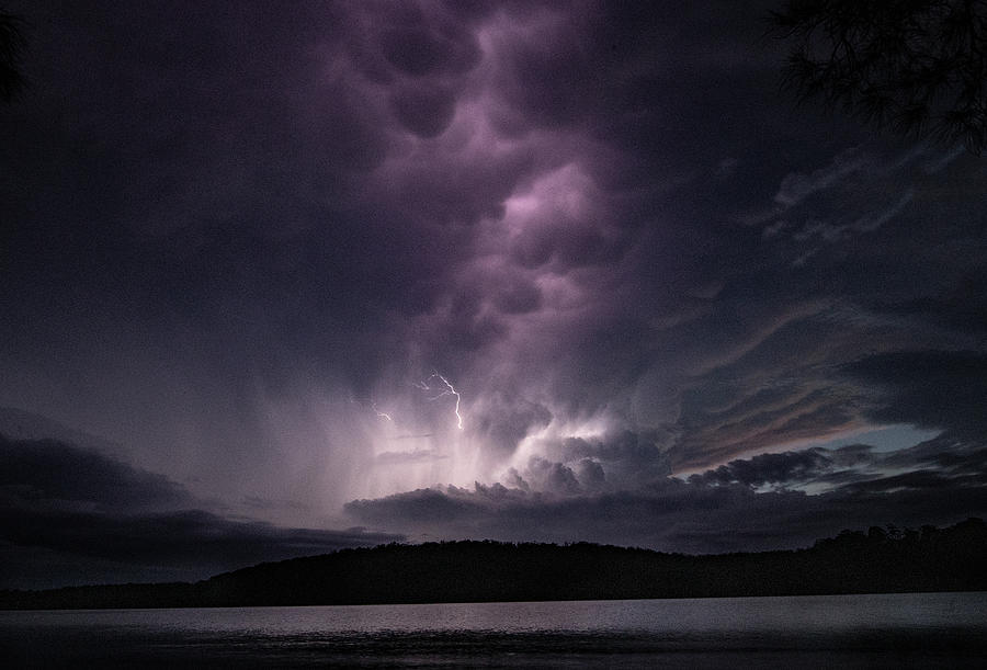 Lightning Photograph - Electric Skies by Leigh Henningham