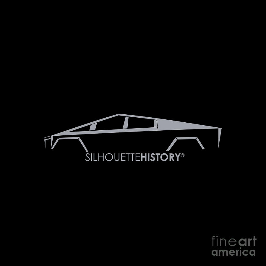 Electric Truck SilhouetteHistory by Gabor Vida