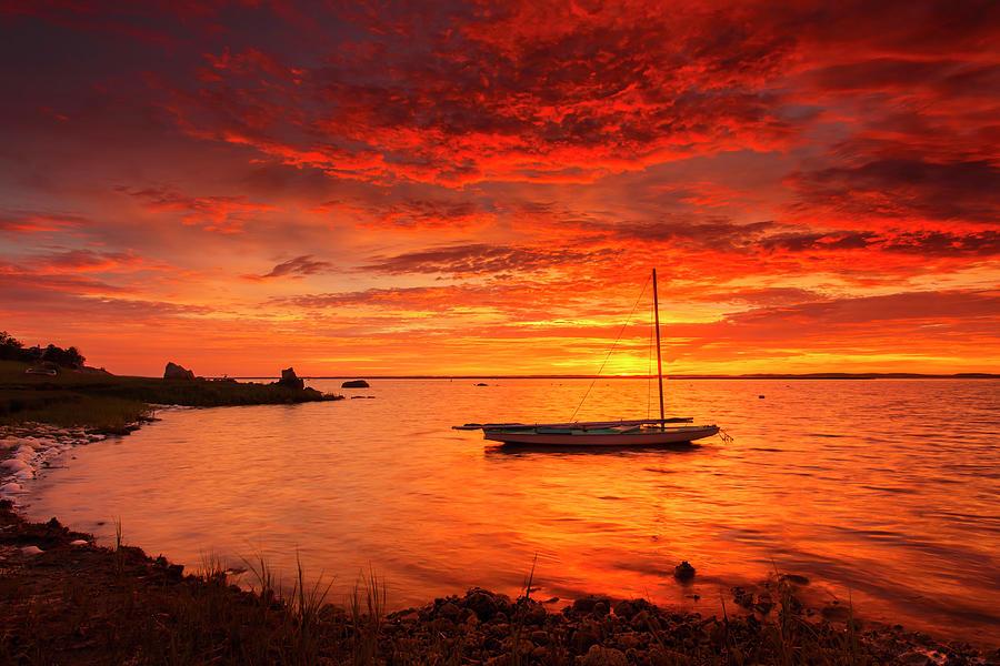 Electrified Photograph - Electrified Sunrise by Dapixara Art
