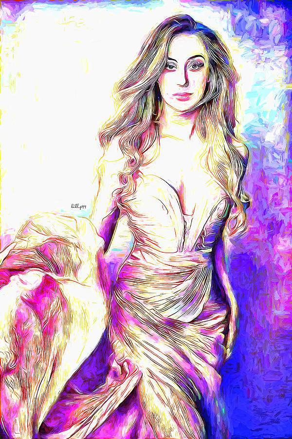Elegant Lady 4 Painting