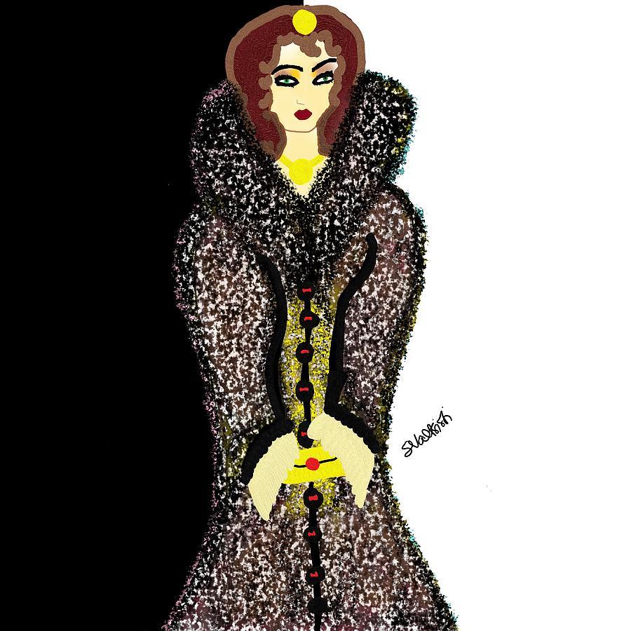 Elegant Digital Art - Elegant by Suzy Valtsioti