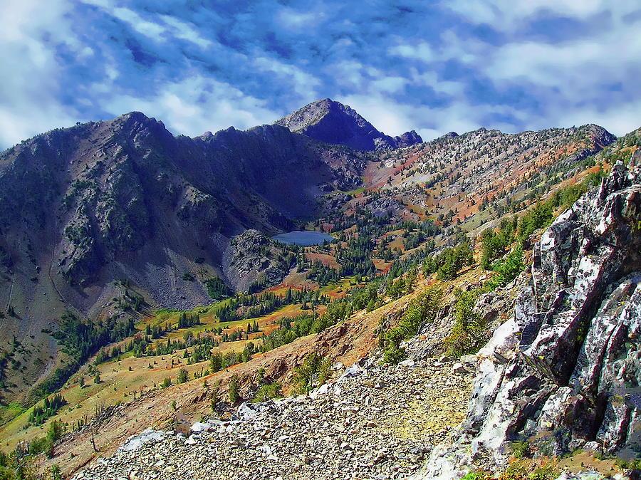 Elkhorn Mountain Scenic Photograph