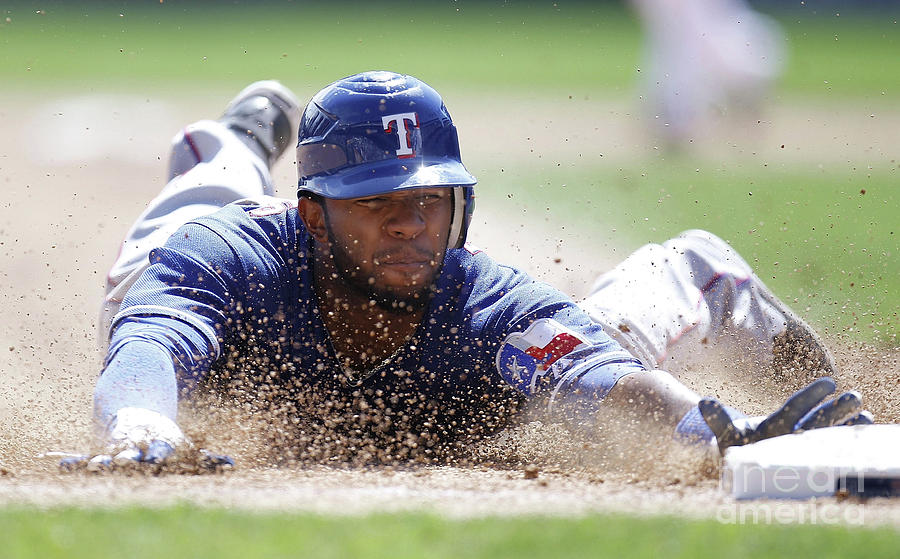 Elvis Andrus Photograph by Gregory Shamus