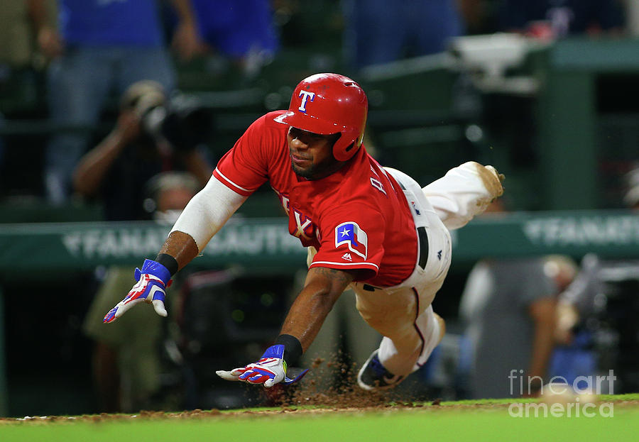 Elvis Andrus Photograph by Rick Yeatts