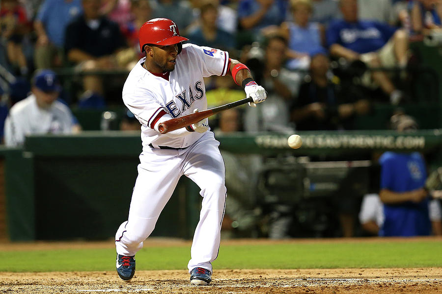 Elvis Andrus Photograph by Sarah Crabill