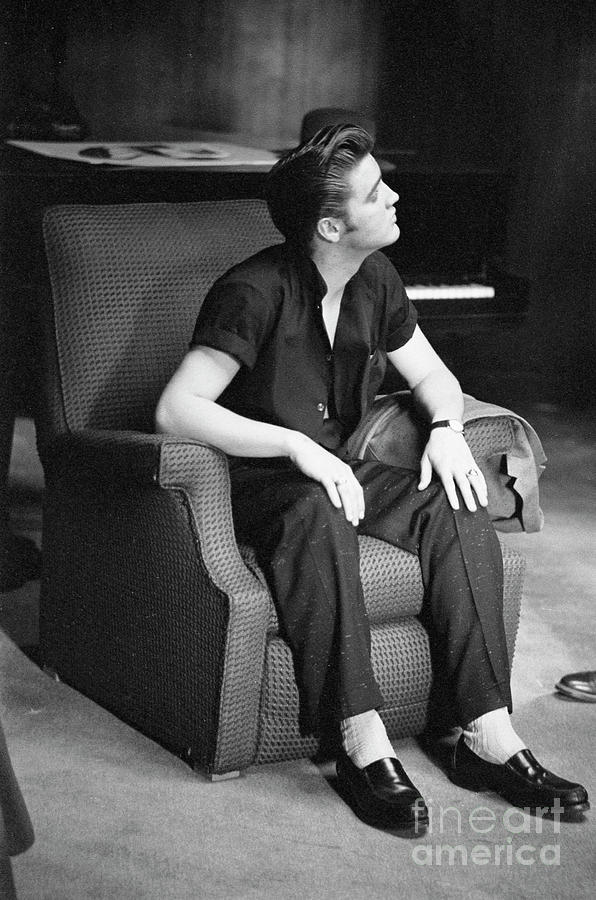 Elvis Presley Photograph - Elvis Presley, 1956 by The Harrington Collection