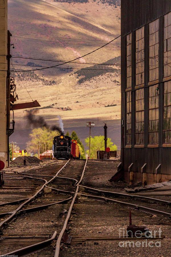 Ely Railyards Photograph