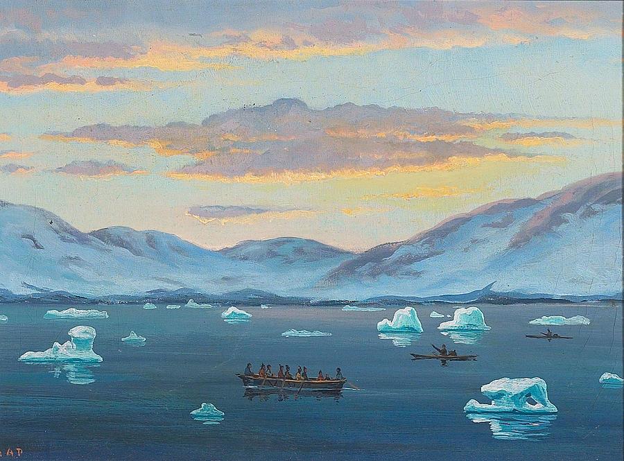 Emanuel Peterse Julianehaabsfjorden Digital Art