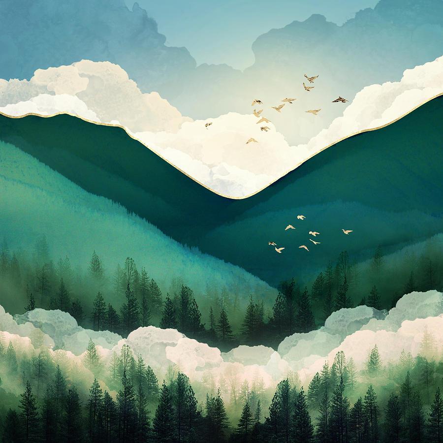 Emerald Hills by Spacefrog Designs