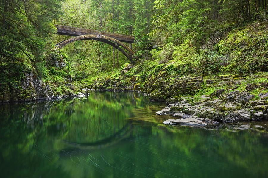 Emerald River Photograph