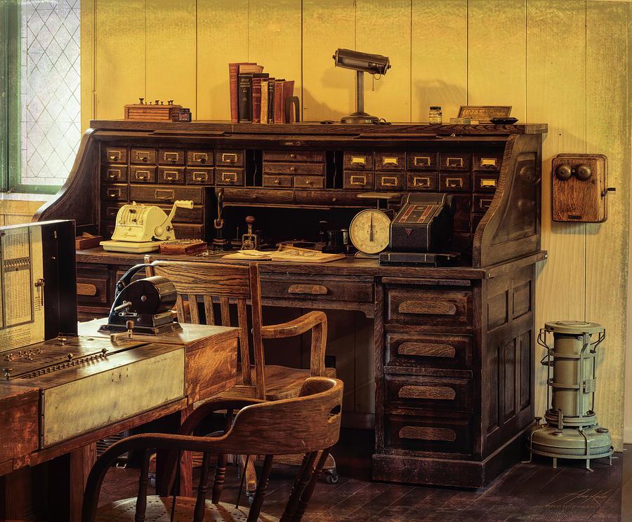Empire Mine Office by Alan Kepler