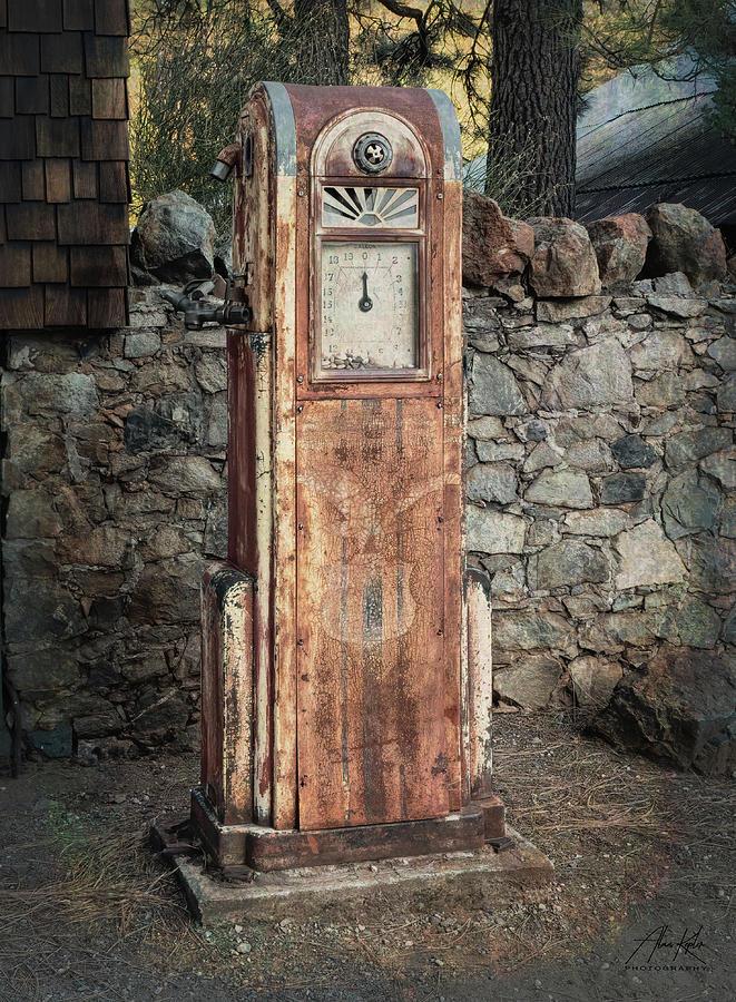 Empire Mine Pump by Alan Kepler