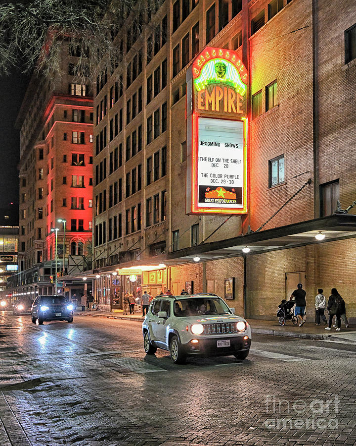 Empire Theater San Antonio Photograph