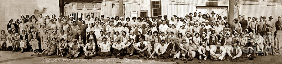 Employees of K. Hovden Employees of K. Hovden Food Products Corp. C by California Views Archives Mr Pat Hathaway Archives