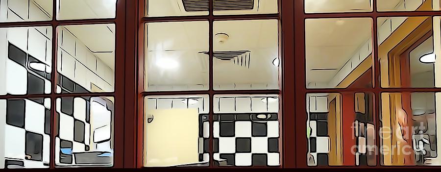 Empty Cafe Photograph