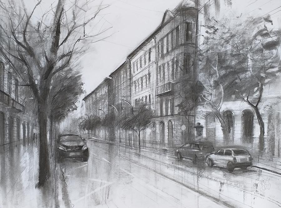 Empty City Drawing