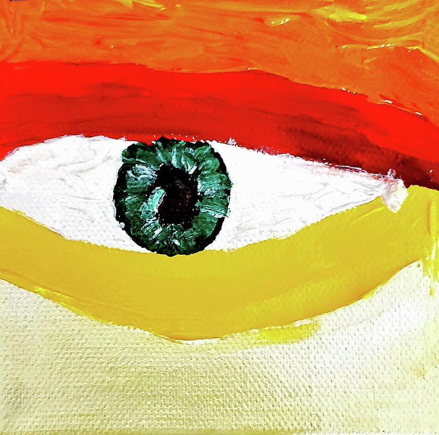 En Abrir Y Cerrar De Un Ojo Painting
