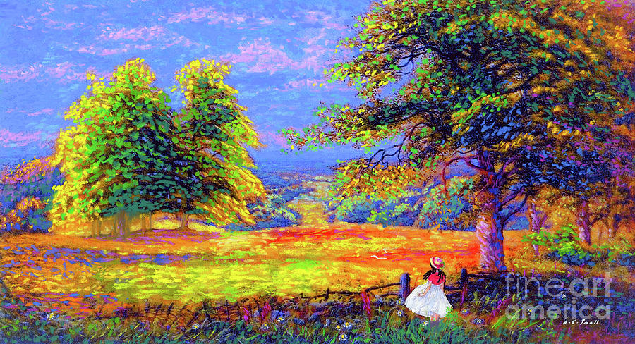 Enchanted Afternoon Painting