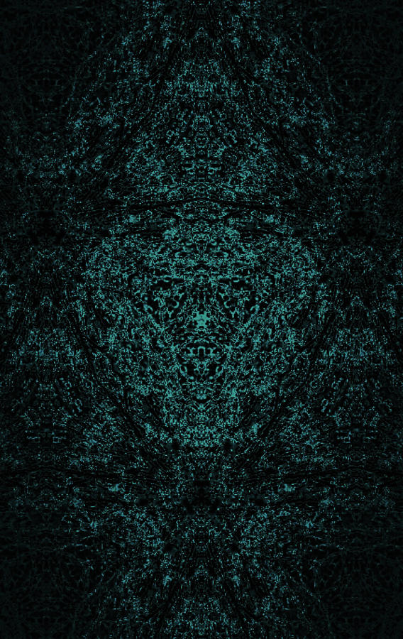 Enchanted Green Digital Art