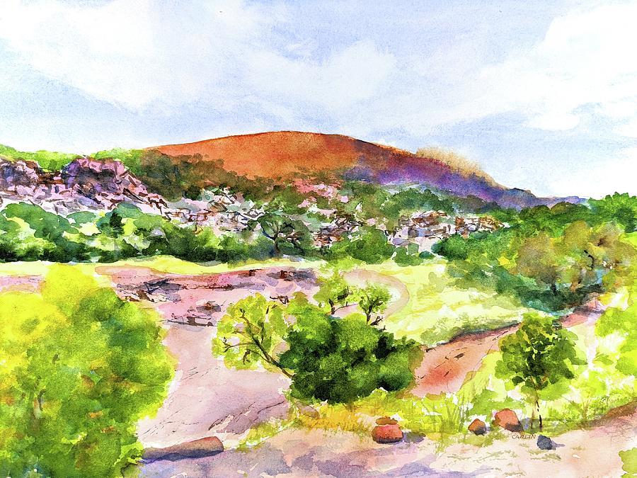 Enchanted Rock Texas by Carlin Blahnik CarlinArtWatercolor