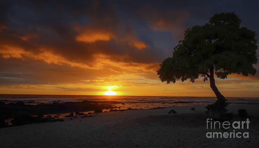 End Of Summer Sunset Photograph
