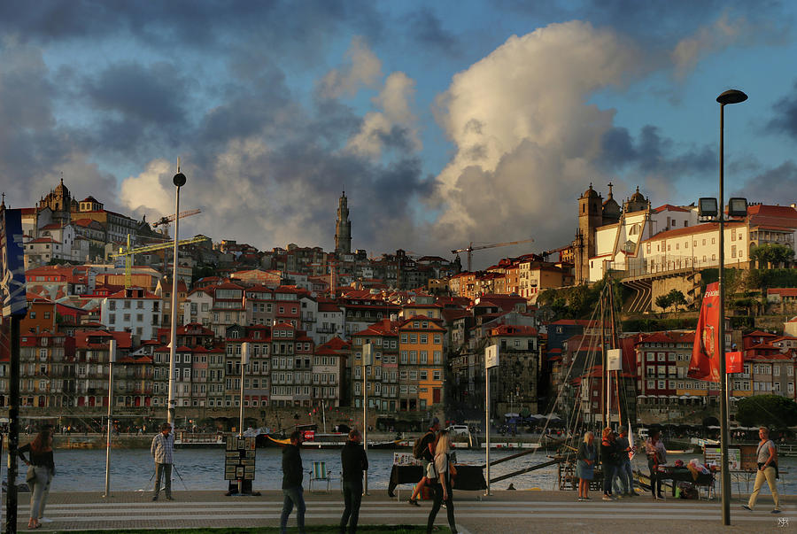 End of the Day in Porto by John Meader