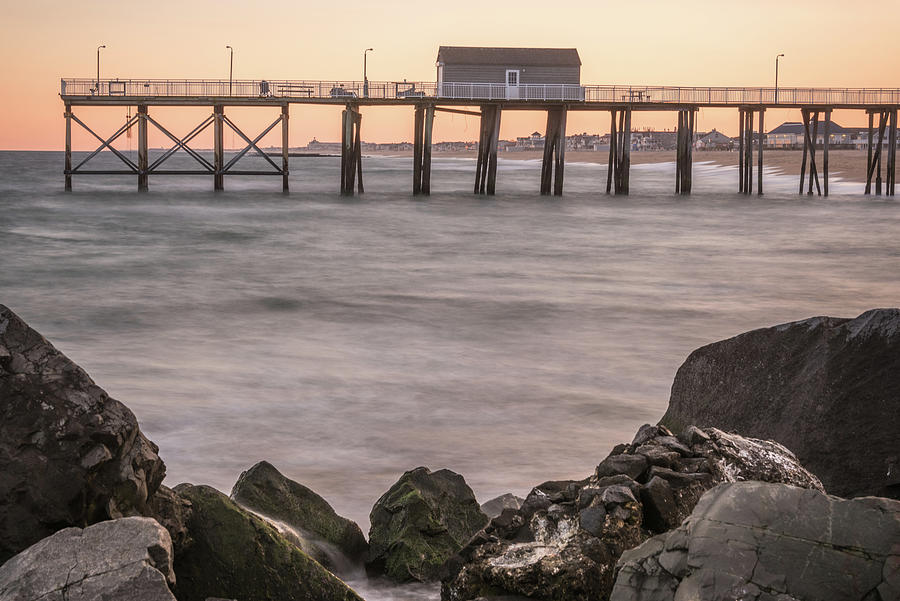 Belmar Photograph - End Of The Pier by Kristopher Schoenleber