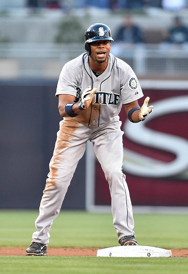 Endy Chavez Photograph by Denis Poroy