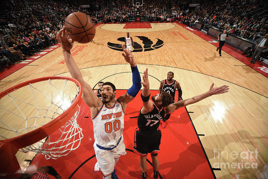 Enes Kanter Photograph by Ron Turenne