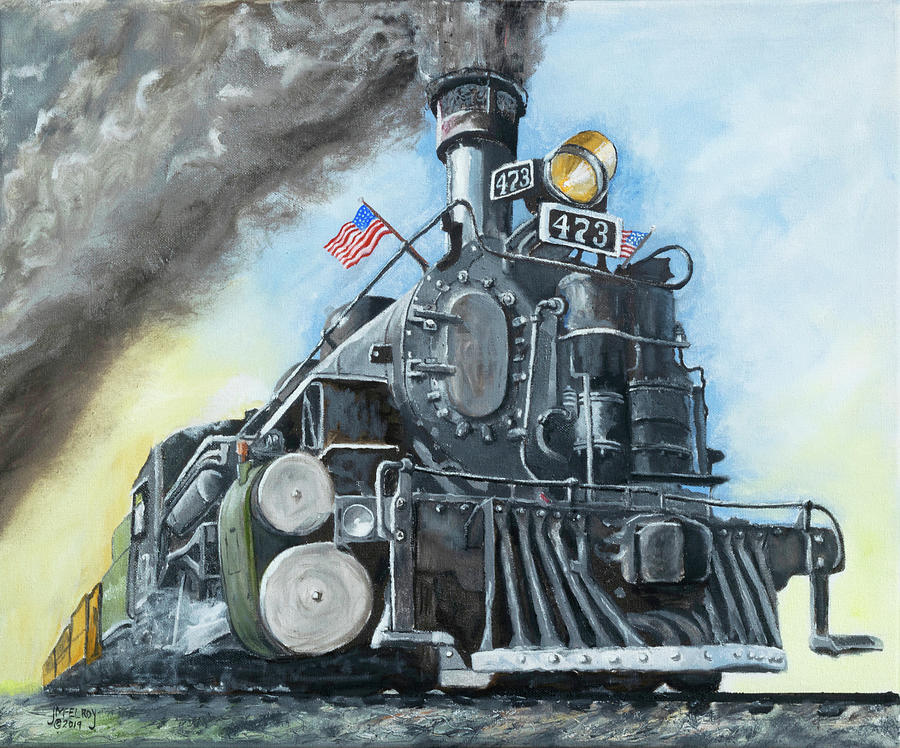 Engine 473 by Jerry McElroy
